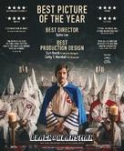 BlacKkKlansman - British Movie Poster (xs thumbnail)