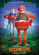 Missing Link - Dutch Movie Poster (xs thumbnail)