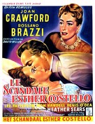 The Story of Esther Costello - Belgian Movie Poster (xs thumbnail)