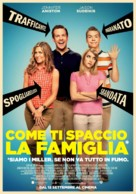 We're the Millers - Italian Movie Poster (xs thumbnail)