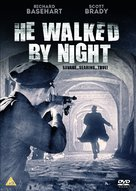 He Walked by Night - British DVD movie cover (xs thumbnail)