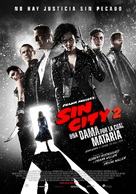Sin City: A Dame to Kill For - Mexican Movie Poster (xs thumbnail)