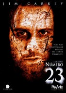 The Number 23 - Brazilian Movie Cover (xs thumbnail)