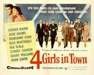 Four Girls in Town - Movie Poster (xs thumbnail)