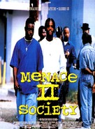Menace To Society - French Movie Poster (xs thumbnail)