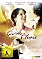 Geliebte Clara - German Movie Cover (xs thumbnail)