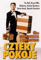 Four Rooms - Polish DVD movie cover (xs thumbnail)