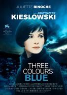 Trois couleurs: Bleu - Swedish Re-release poster (xs thumbnail)