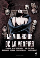 Le viol du vampire - Spanish DVD cover (xs thumbnail)