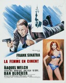 Lady in Cement - French Movie Poster (xs thumbnail)