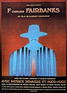F comme Fairbanks - French Movie Poster (xs thumbnail)