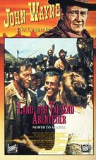 North to Alaska - German VHS cover (xs thumbnail)