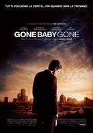 Gone Baby Gone - Italian Movie Poster (xs thumbnail)