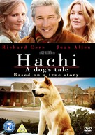 Hachiko: A Dog's Story - British DVD cover (xs thumbnail)
