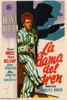 Lady on a Train - Spanish Movie Poster (xs thumbnail)