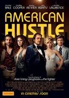 American Hustle - Australian Movie Poster (xs thumbnail)