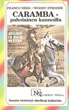 Keoma - Finnish VHS movie cover (xs thumbnail)