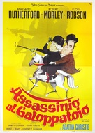 Murder at the Gallop - Italian Movie Poster (xs thumbnail)