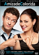 Friends with Benefits - Brazilian DVD movie cover (xs thumbnail)
