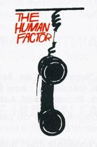 The Human Factor - British poster (xs thumbnail)