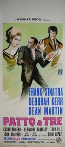 Marriage on the Rocks - Italian Movie Poster (xs thumbnail)