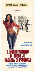 Bobbie Jo and the Outlaw - Italian Movie Poster (xs thumbnail)