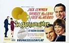 The Apartment - Belgian Movie Poster (xs thumbnail)
