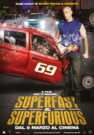 Superfast - Italian Movie Poster (xs thumbnail)