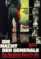 The Night of the Generals - German Movie Poster (xs thumbnail)