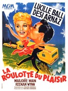 The Long, Long Trailer - French Movie Poster (xs thumbnail)
