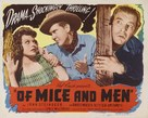 Of Mice and Men - Re-release poster (xs thumbnail)