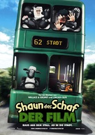 Shaun the Sheep - German Movie Poster (xs thumbnail)