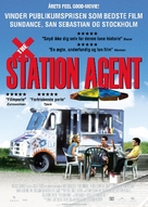 The Station Agent - Danish Movie Poster (xs thumbnail)