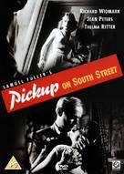 Pickup on South Street - British DVD cover (xs thumbnail)