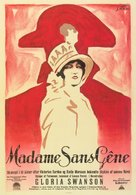 Madame Sans-Gêne - Danish Movie Poster (xs thumbnail)
