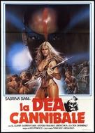 Mondo cannibale - Italian Movie Poster (xs thumbnail)