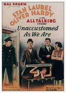Unaccustomed As We Are - Movie Poster (xs thumbnail)