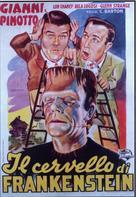Bud Abbott Lou Costello Meet Frankenstein - Italian Movie Poster (xs thumbnail)