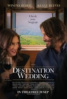 Destination Wedding - Singaporean Movie Poster (xs thumbnail)