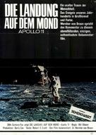 Footprints on the Moon: Apollo 11 - German Movie Poster (xs thumbnail)