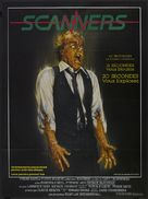 Scanners - French Movie Poster (xs thumbnail)