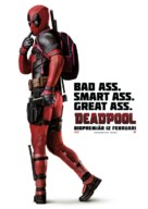Deadpool - Swedish Movie Poster (xs thumbnail)