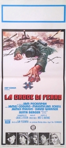 Cross of Iron - Italian Movie Poster (xs thumbnail)