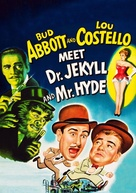 Abbott and Costello Meet Dr. Jekyll and Mr. Hyde - DVD movie cover (xs thumbnail)