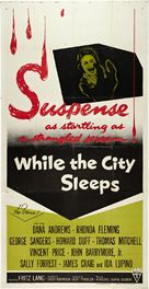 While the City Sleeps - Movie Poster (xs thumbnail)