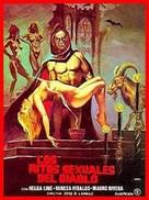 Los ritos sexuales del diablo - Spanish Movie Cover (xs thumbnail)