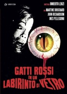 Gatti rossi in un labirinto di vetro - Italian DVD movie cover (xs thumbnail)