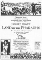 Land of the Pharaohs - poster (xs thumbnail)