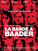 Der Baader Meinhof Komplex - French Movie Poster (xs thumbnail)