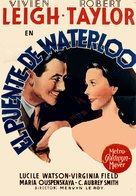 Waterloo Bridge - Spanish Movie Poster (xs thumbnail)